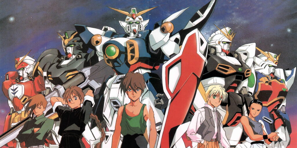 In The Dreamland with Gundam Mobile Suit