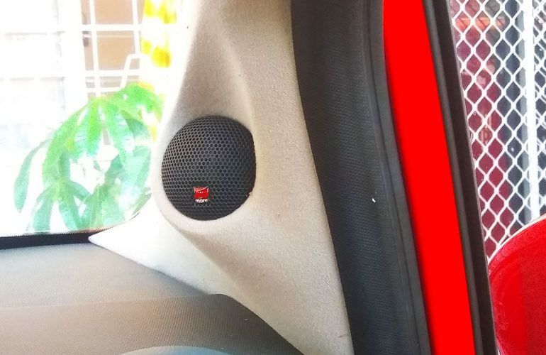 Custom Car Audio Pillar Upgrade