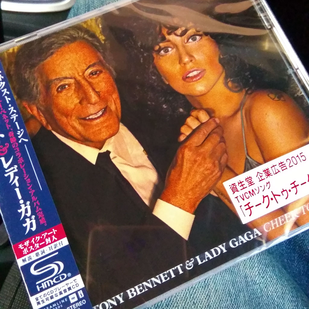 Tony Bennett & Lady Gaga Cheek to Cheek Album [SHM-CD] Review