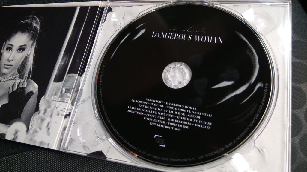 Ariana Grande Dangerous Woman CD Album (Deluxe Version)