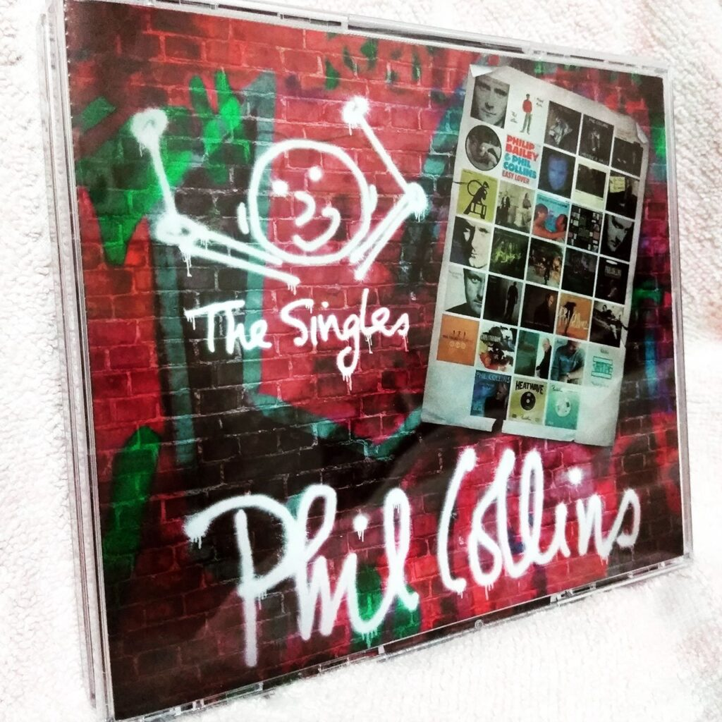 Phil Collins The Singles 3CD Box Set Album