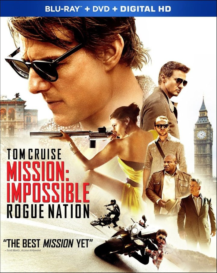 Mission Impossible Rogue Nation dolby Atmos Blu-ray