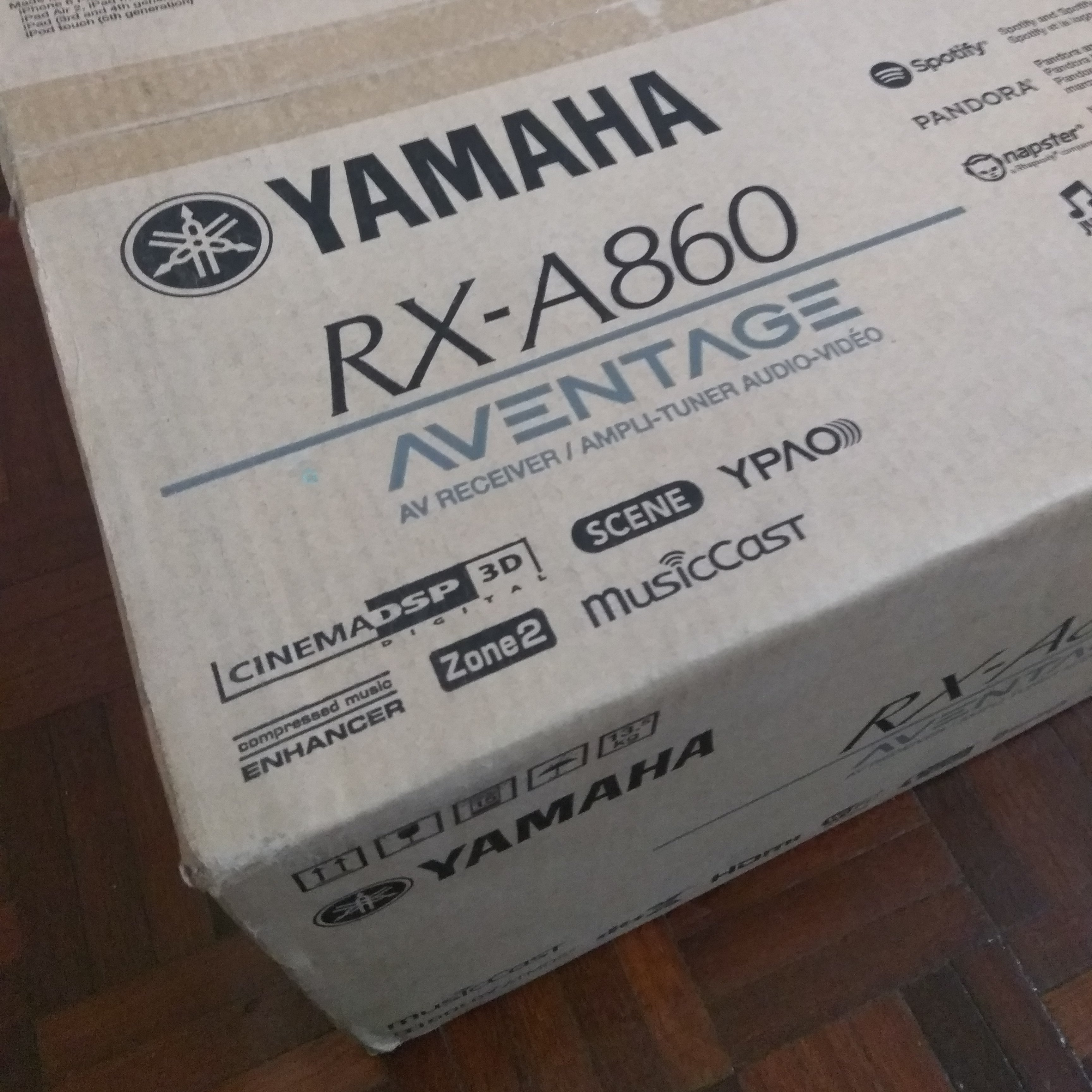 Yamaha RX-A860 is fun