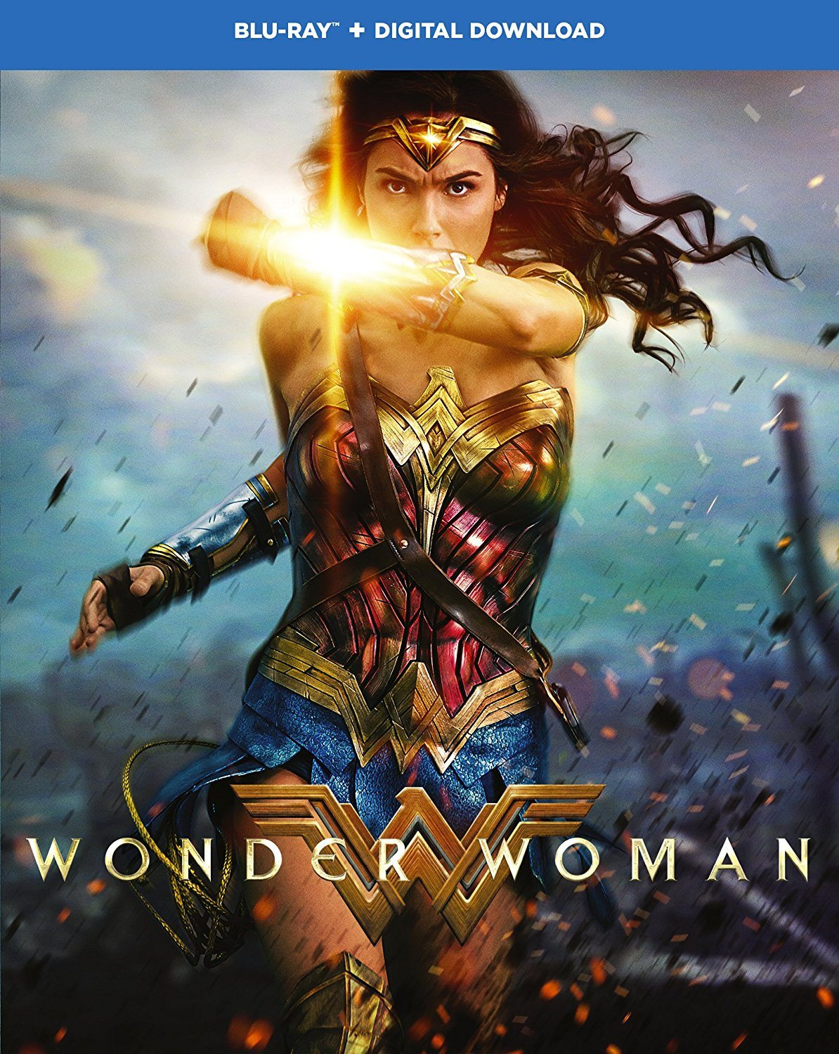 Wonder Woman Blu-ray with Dolby Atmos