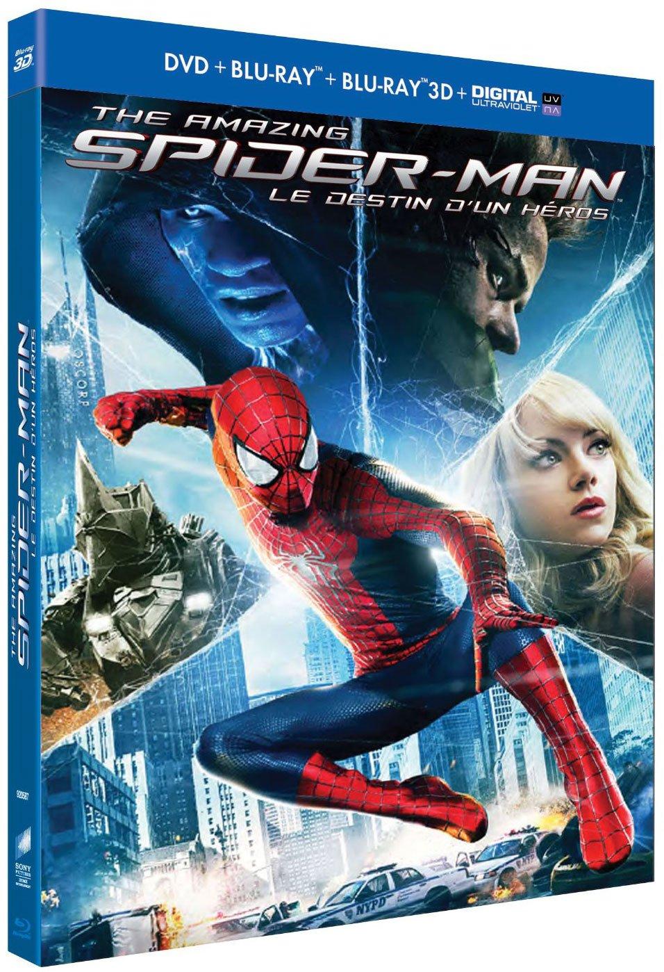 Spiderman Blu-ray Dolby Atmos