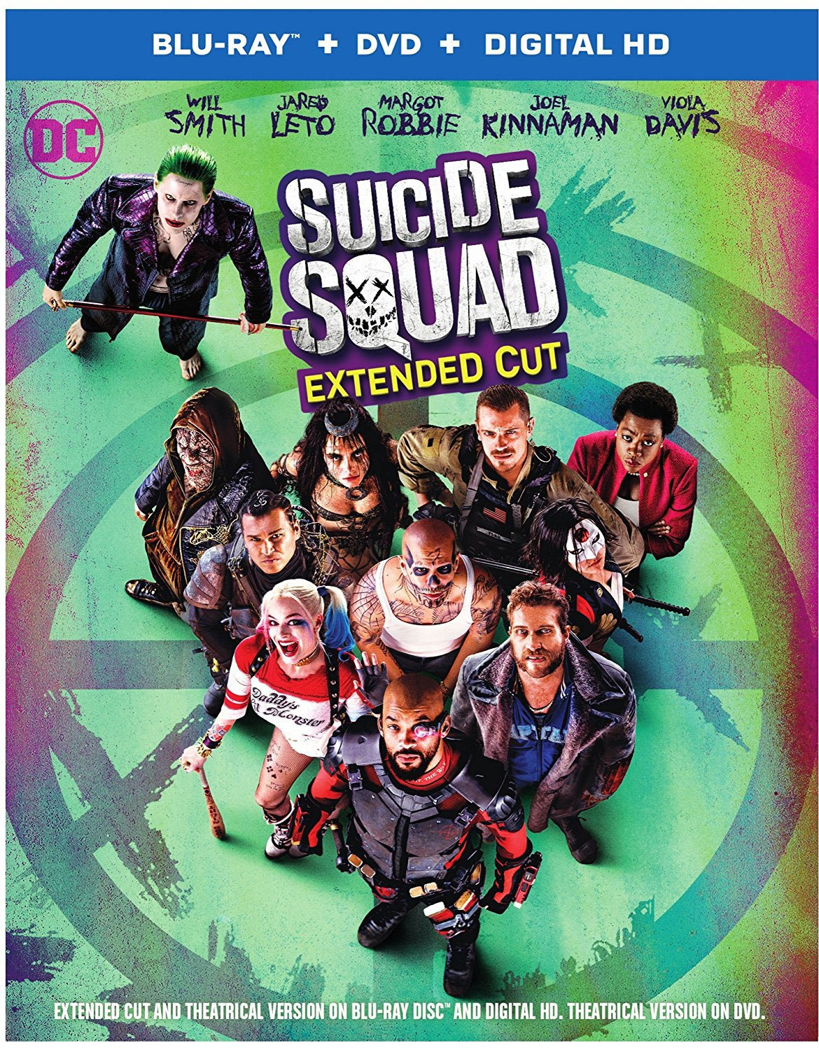 Suicide Squad Dolby Atmos Blu-ray