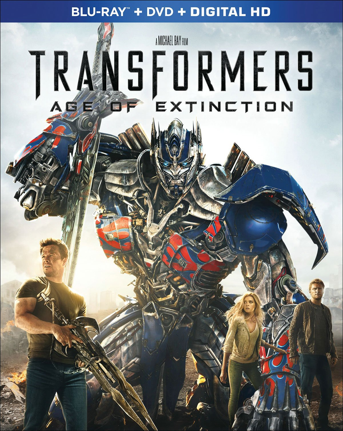 Transformers Age of Extinction Dolby Atmos Blu-ray