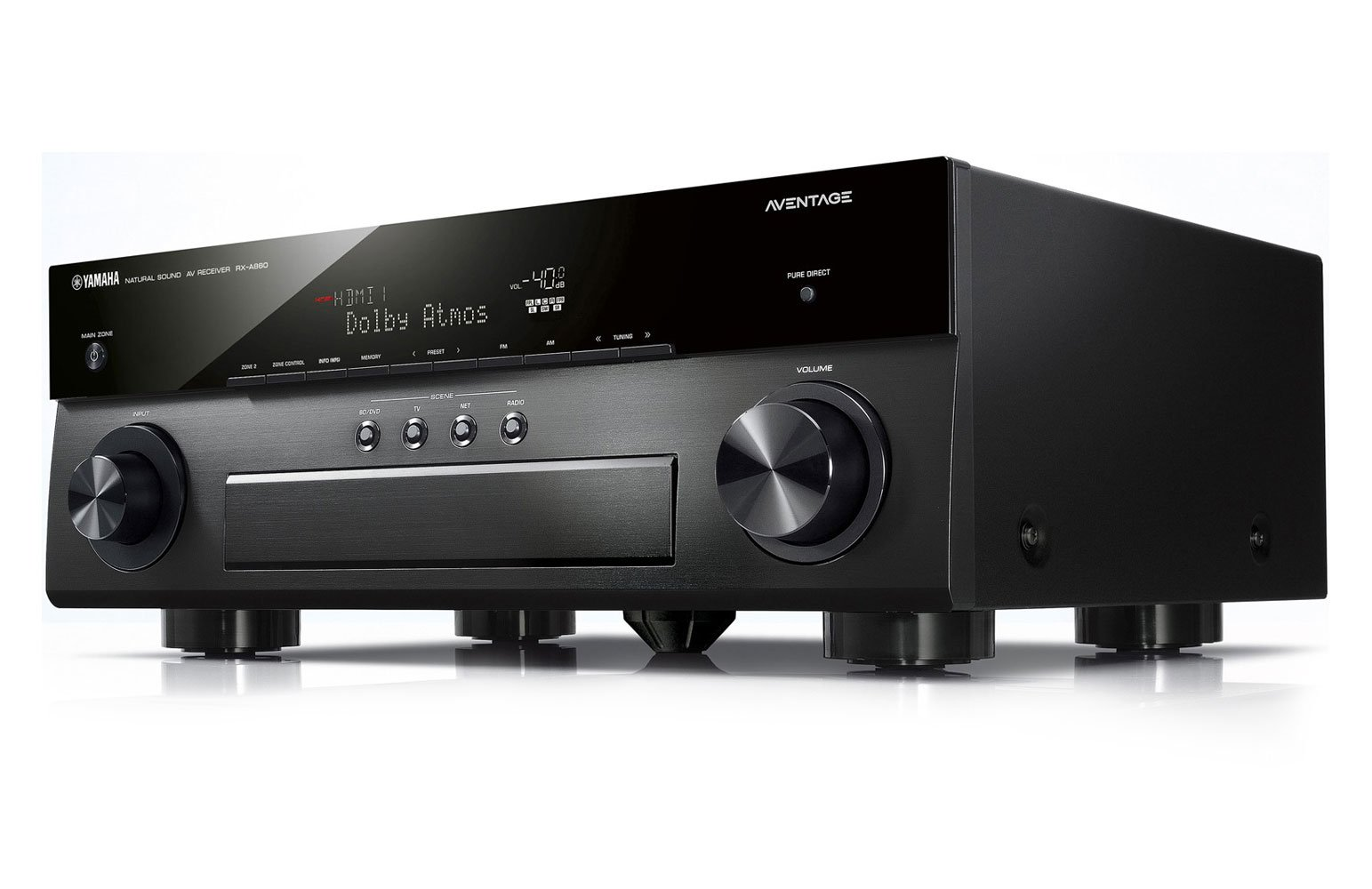 yamaha rx a860 aventage dolby atmos av receiver review. Black Bedroom Furniture Sets. Home Design Ideas