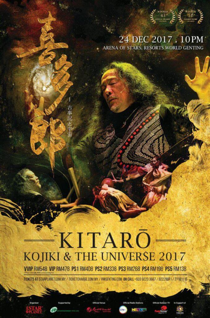 Kitaro Live in Genting Malaysia 2017
