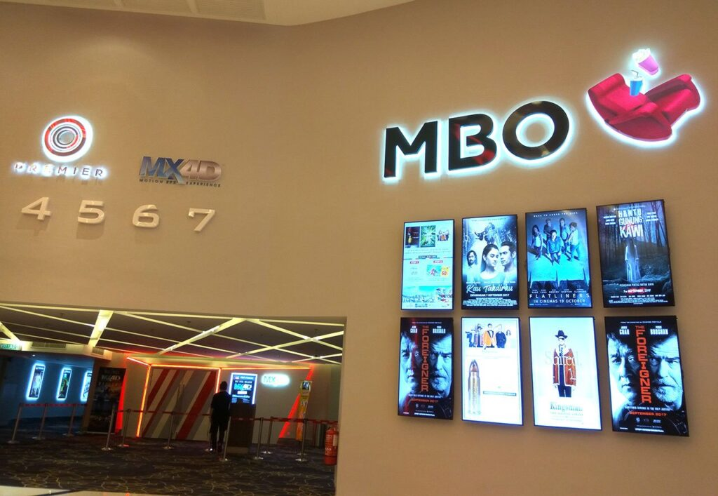 The First MX4D Movie Experience in Malaysia