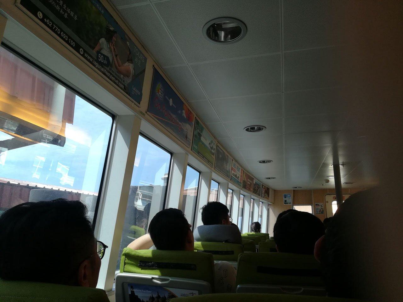 Bintan Island Ferry Ride
