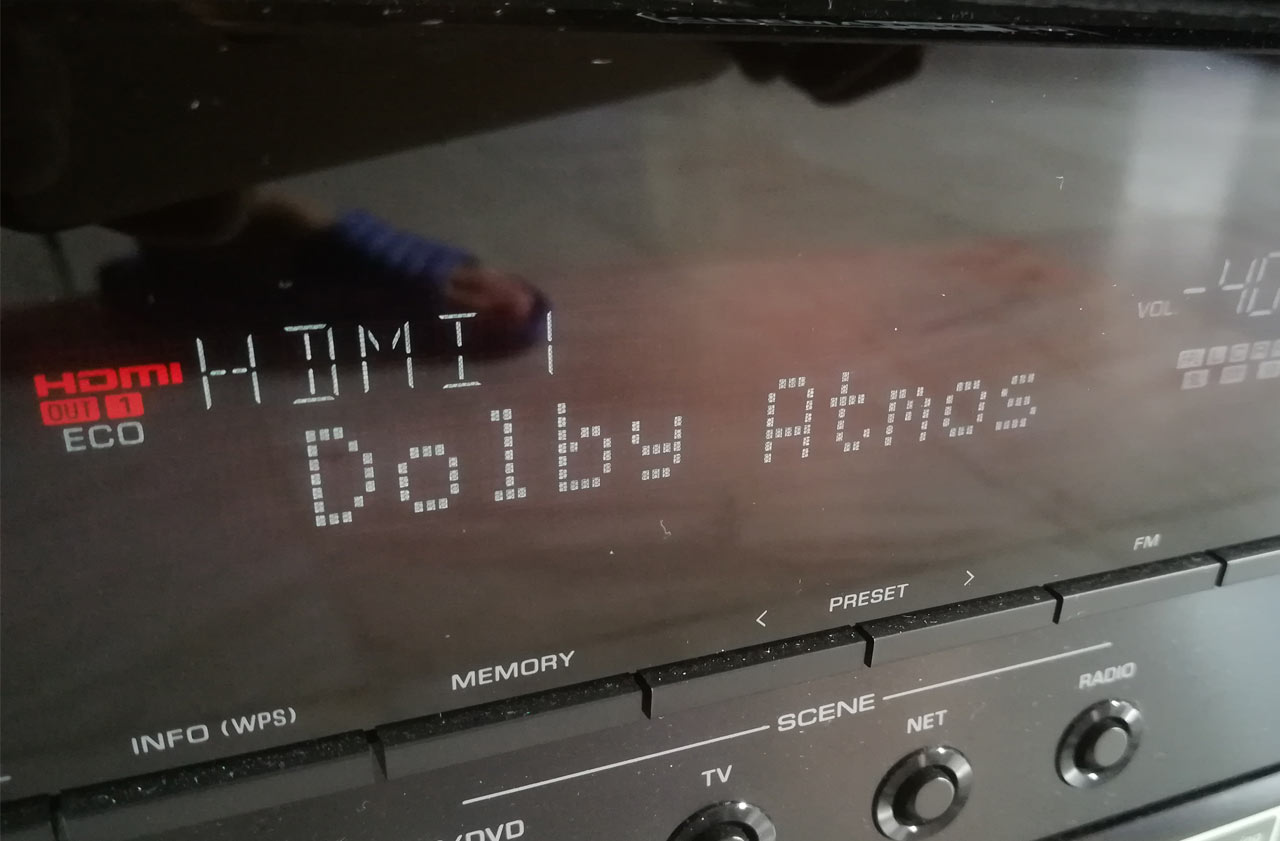 Yamaha Aventage RX-A860 Dolby Atmos Movie Test