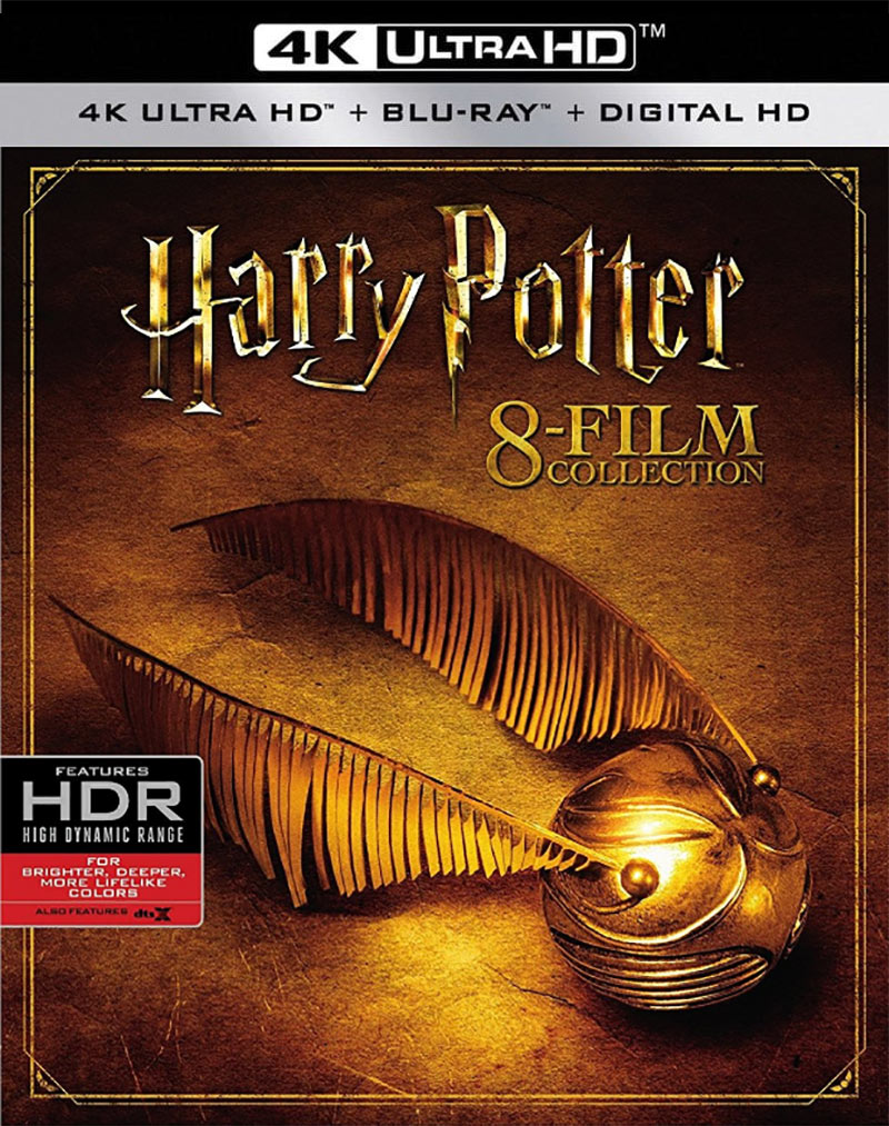 Harry-Potter 8 Film Collection 4K Blu-ray