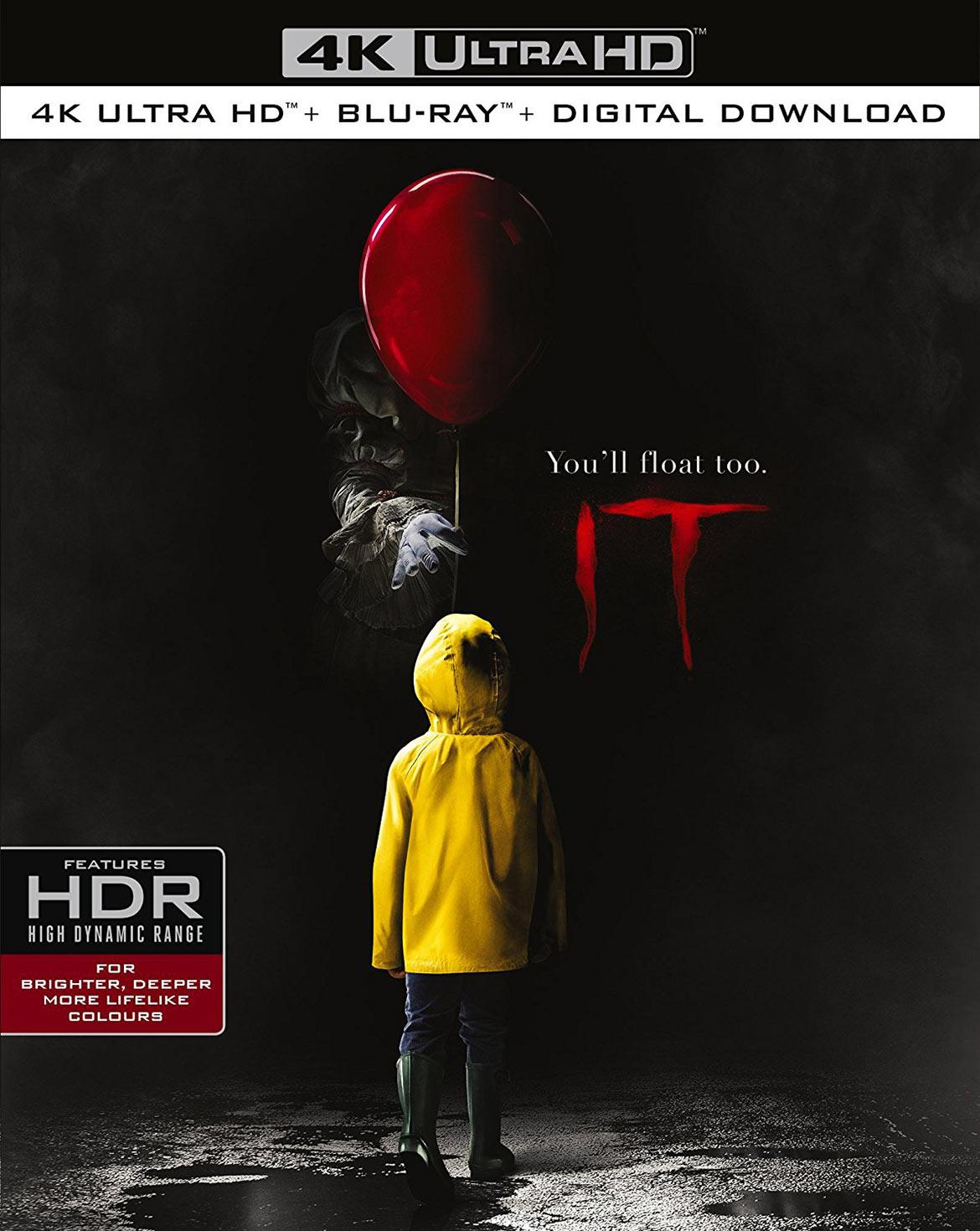 IT 4K HDR Blu-ray