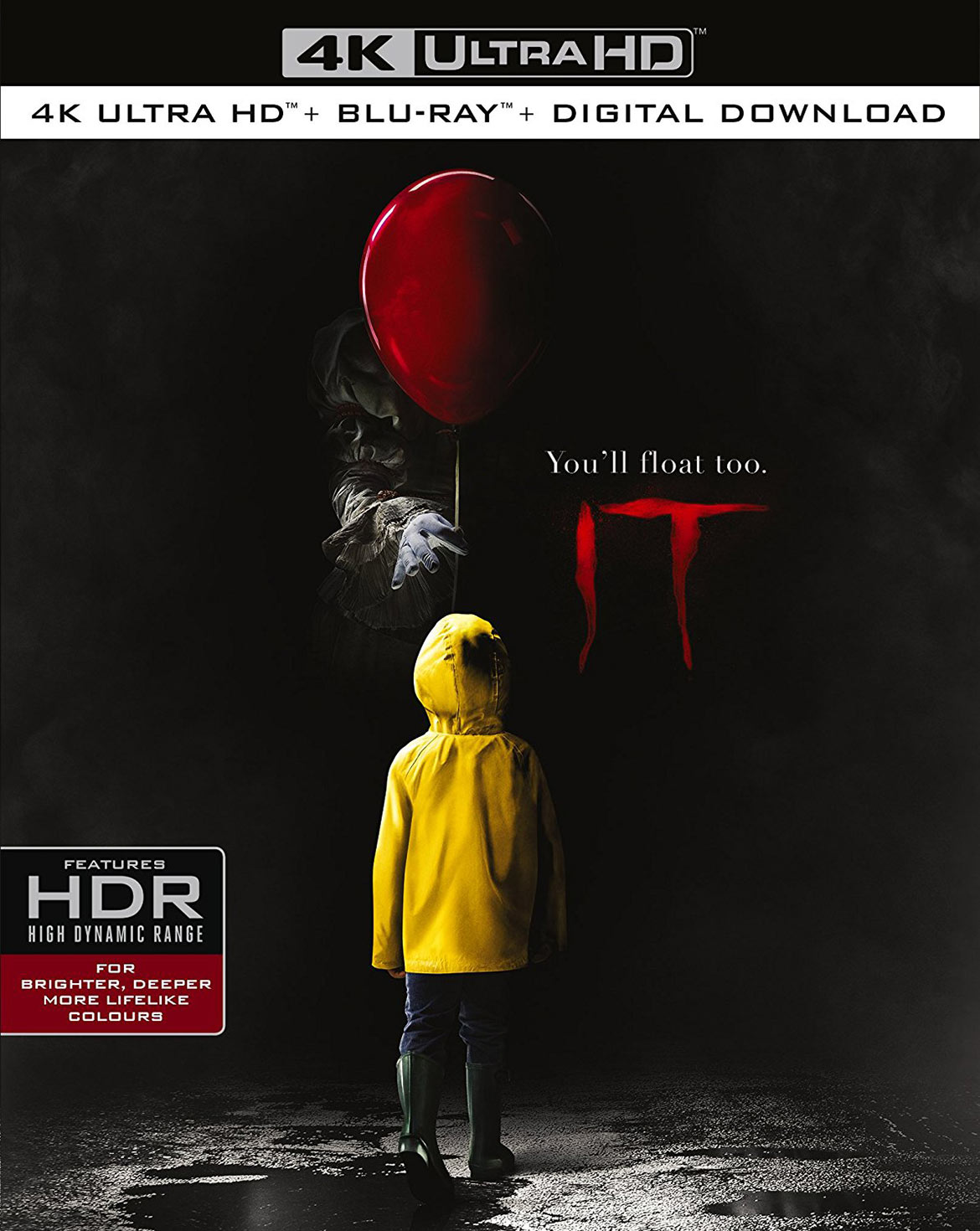IT 4K HDR Blu-ray