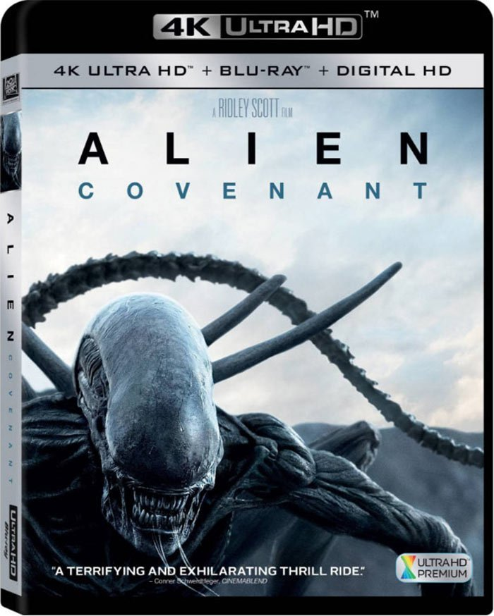 Alien Covenant 4K Ultra HD Blu-ray