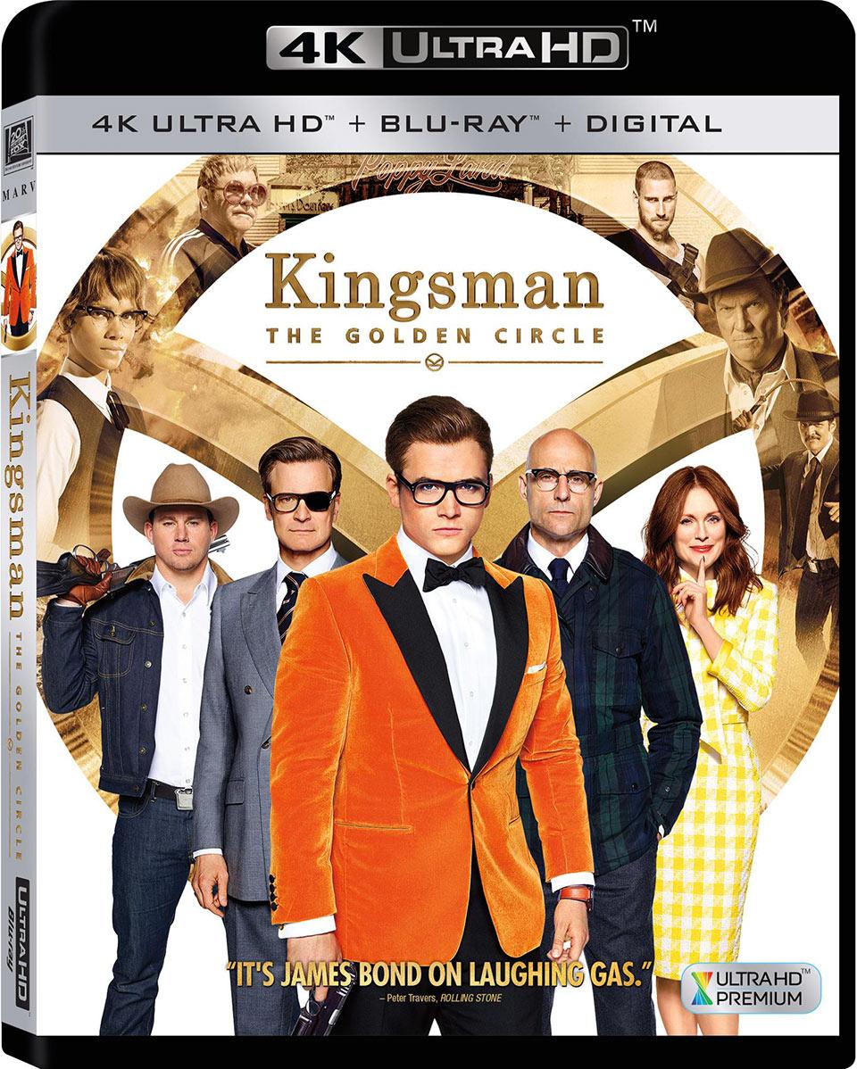 Kingsmen The Golden Circle 4K UHD Blu-ray