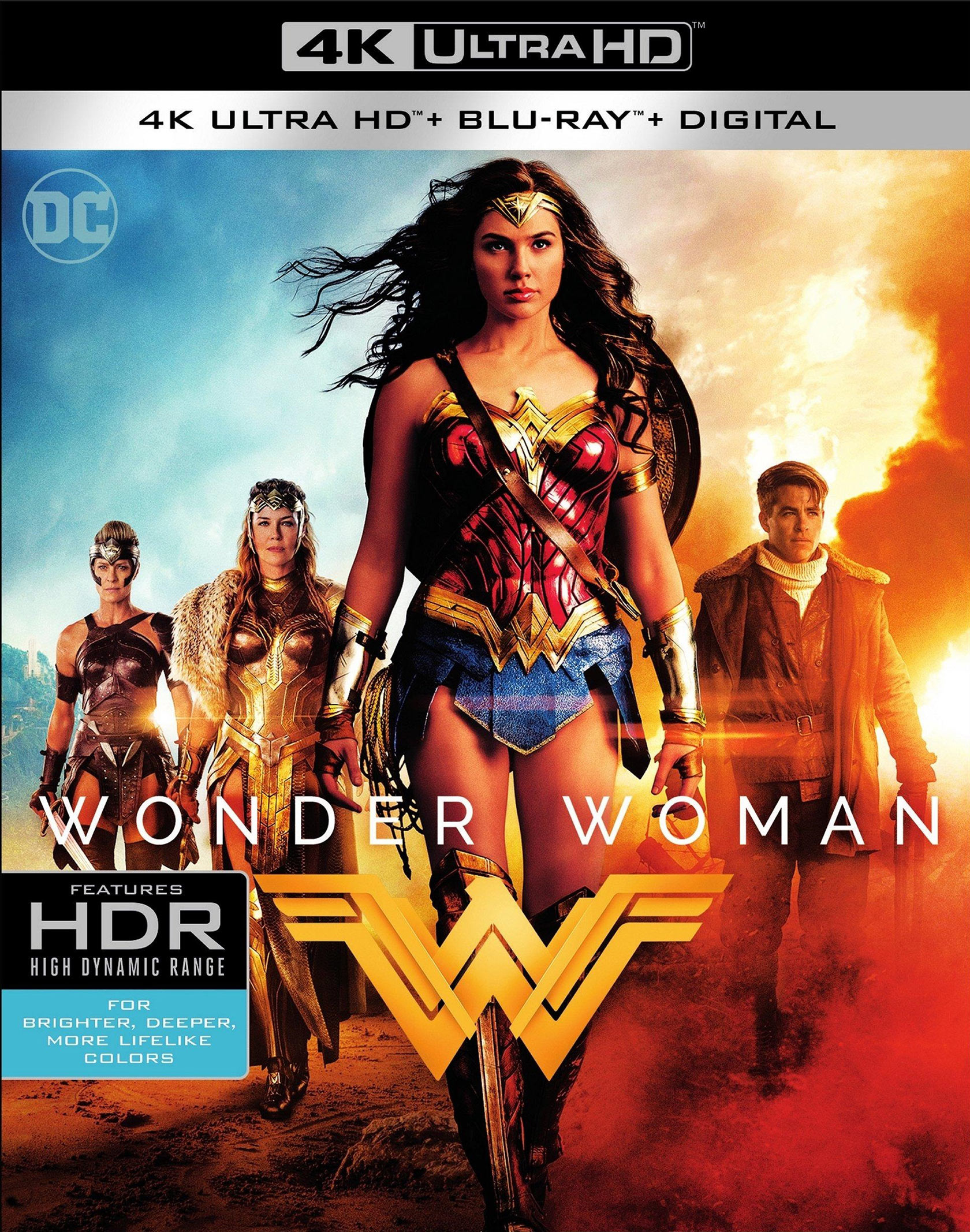 Wonder Woman 4K UHD Blu-ray
