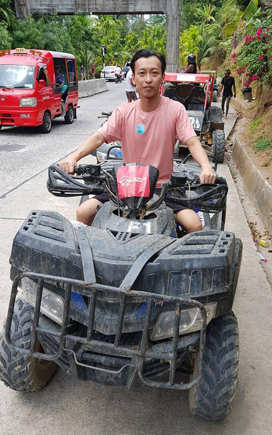ATV Tour Ride at Phuket