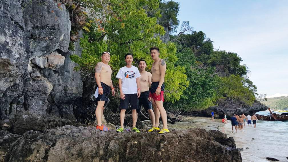 Monkey Beach at Phi Phi Island