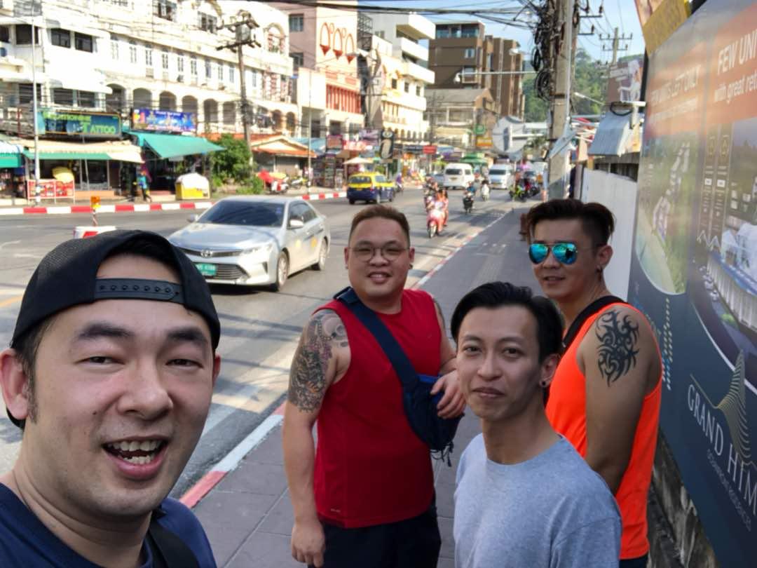 Patong Street Selfie