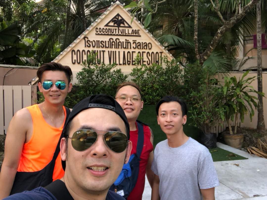 Patong Trip Selfie
