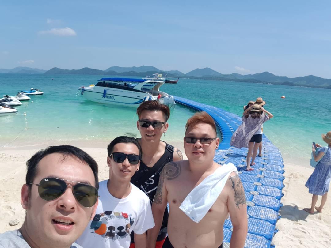 Phi Phi Island Selfie Photo