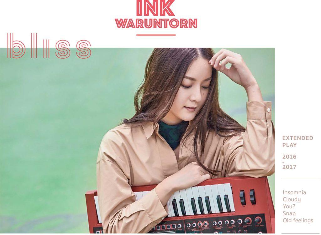Ink Waruntorn BLISS Synthpop Album Review