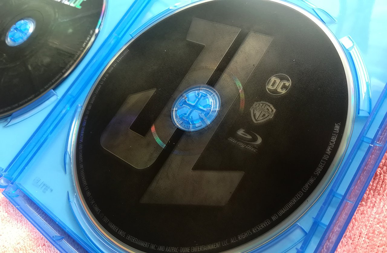 Justice League Blu-ray Disc