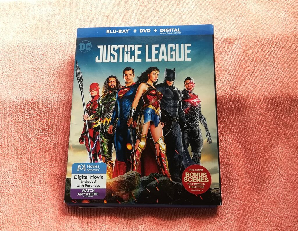 Justice League Blu-ray Review: Audio Issue