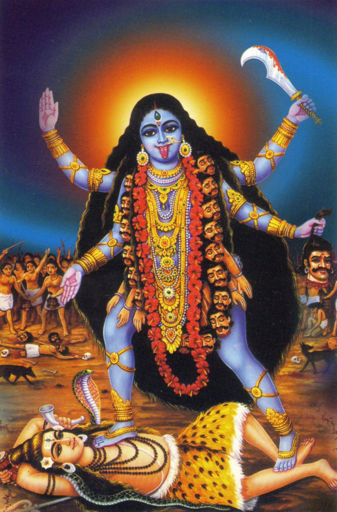 Kali Goddess Dream