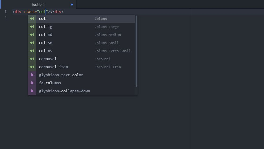 Atom Bootstrap 3