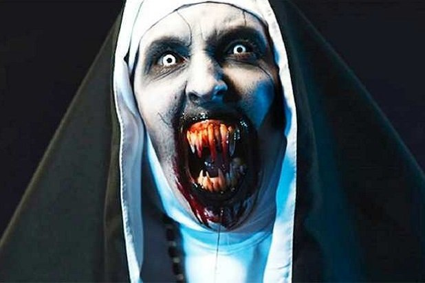The Nun Valak Jump scare