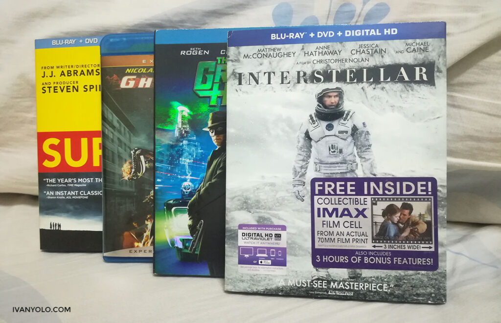 Used Blu-ray Movies For Sale (US Import)