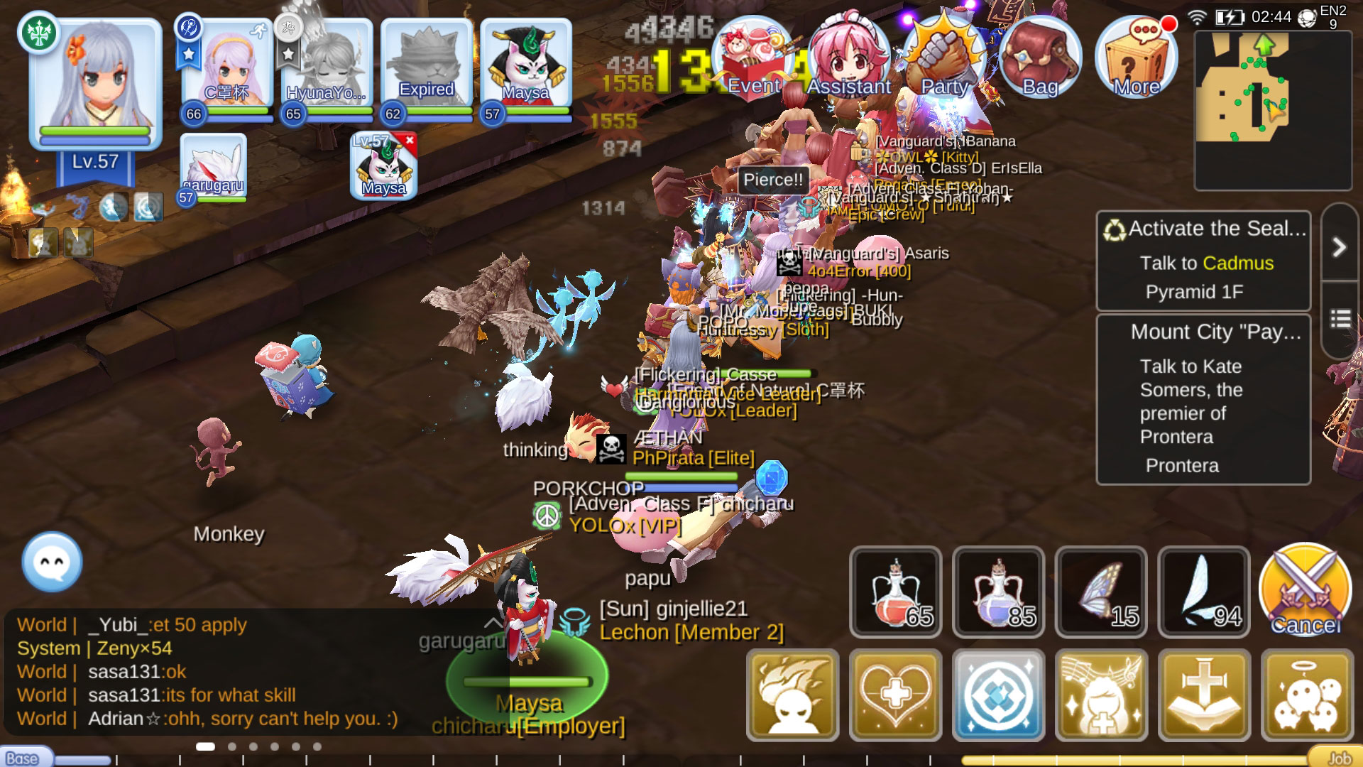 Kill Steal Farming Ragnarok M Guide