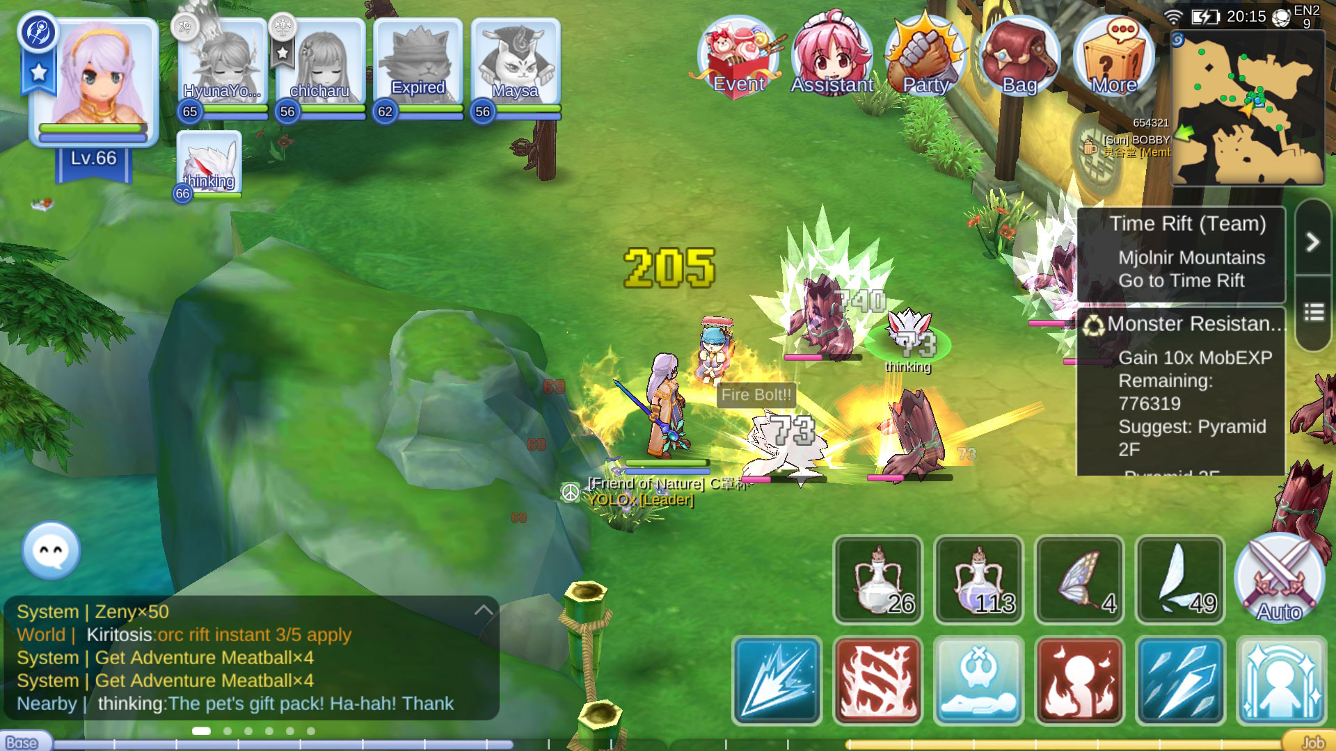 Ragnarok M Kill Steal Levelling Guide