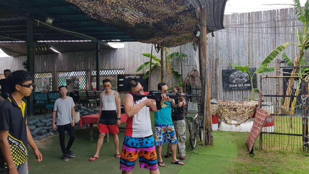Gun Shooting in Hua Hin