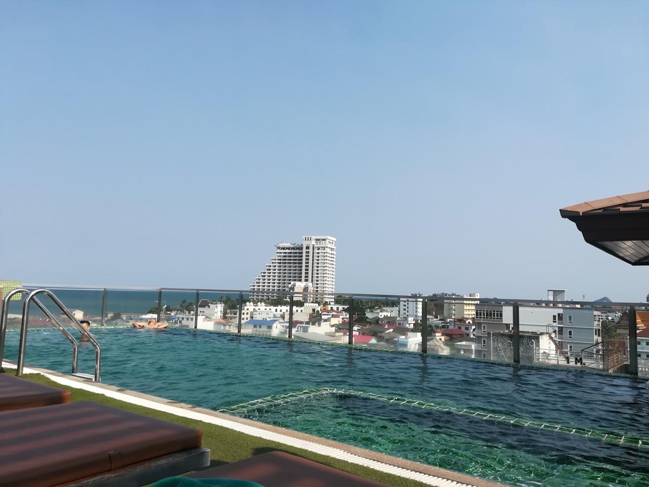 Chalelarn Hotel Roof Top Swimming Pool