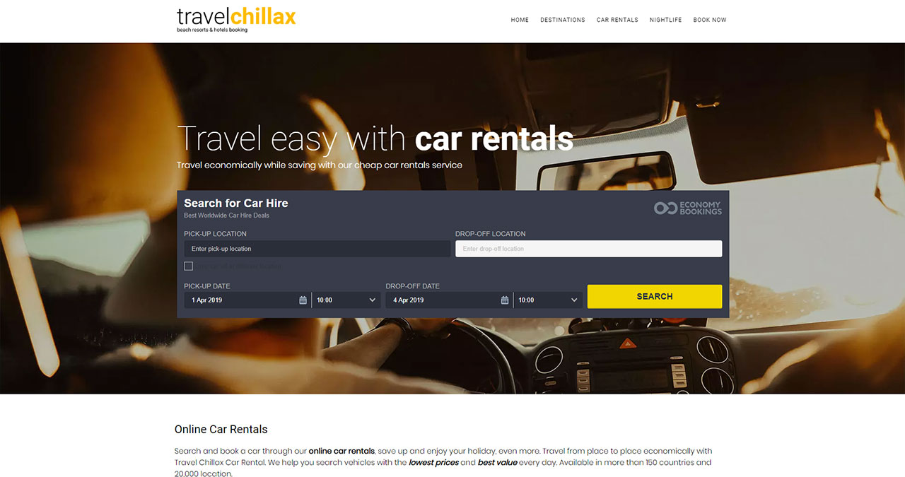 Cheap Car Rentals in South East Asia