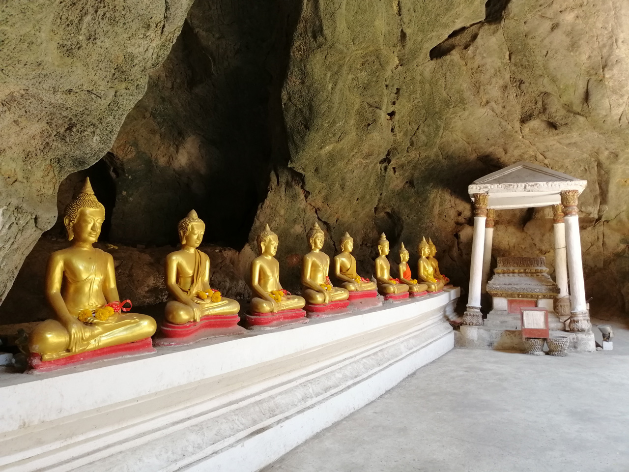 Khao Luang Cave Temple in Hua Hin