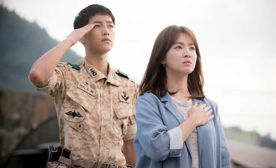 Descendants of The Sun Netflix