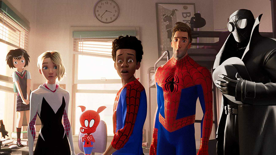 Spider Man Into The Verse Netflix