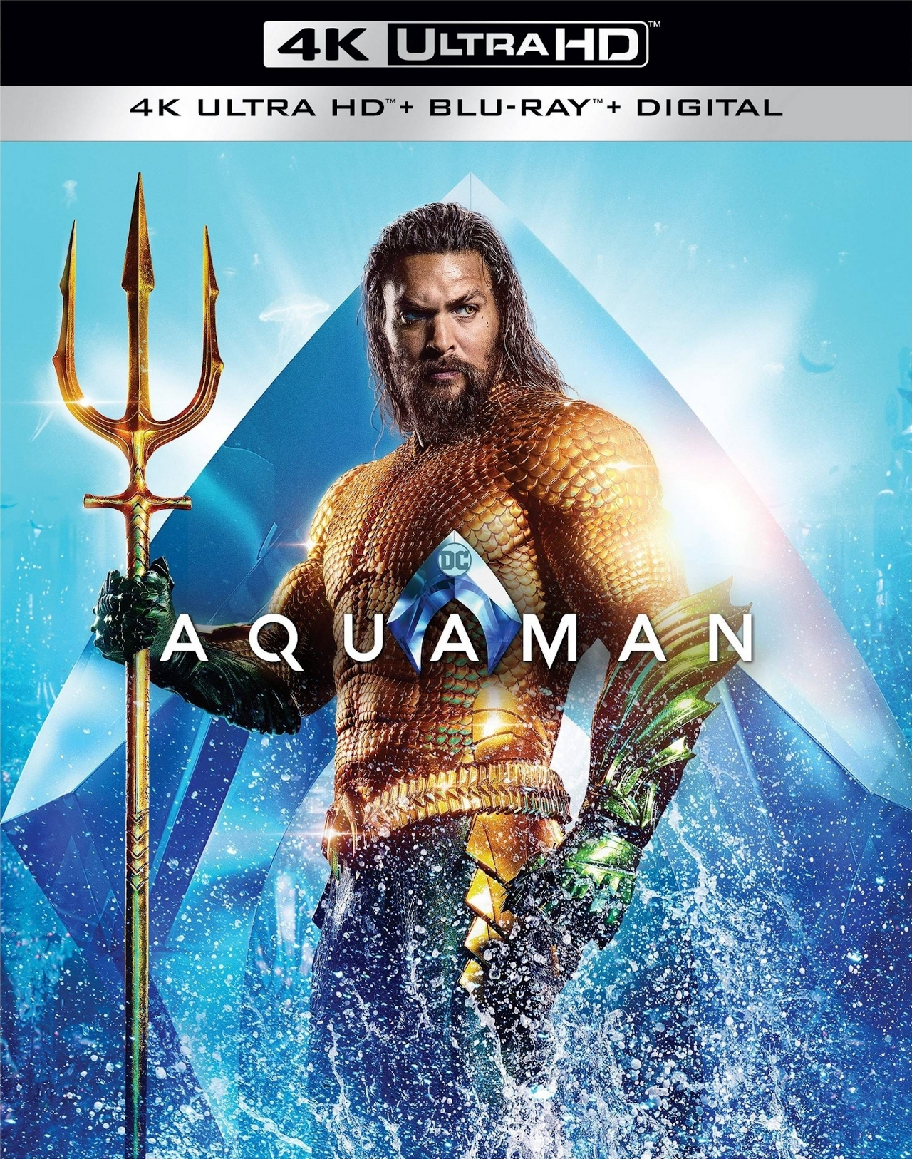 Aquaman 4K UHD - Best 4K Blu-ray DC Superhero Movies
