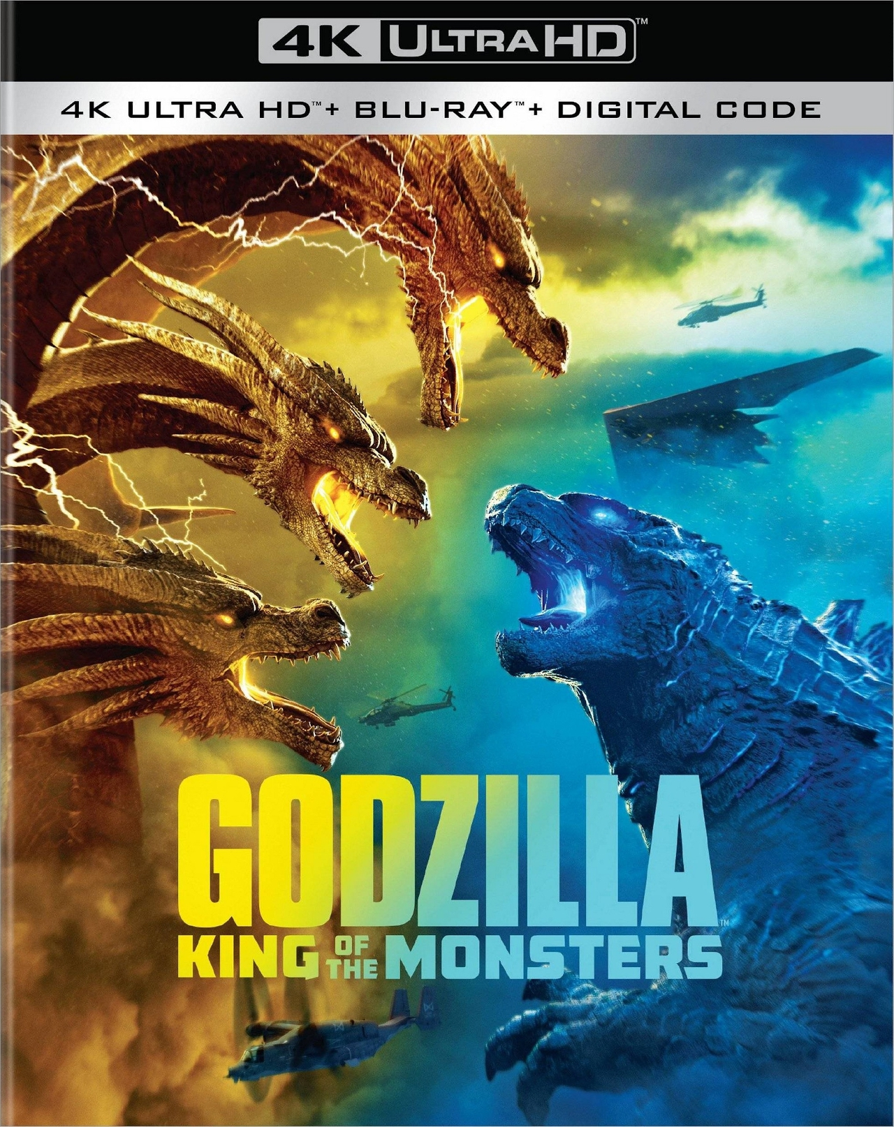 Godzilla 2 4K UHD - Best 4K Blu-ray Monster Movies