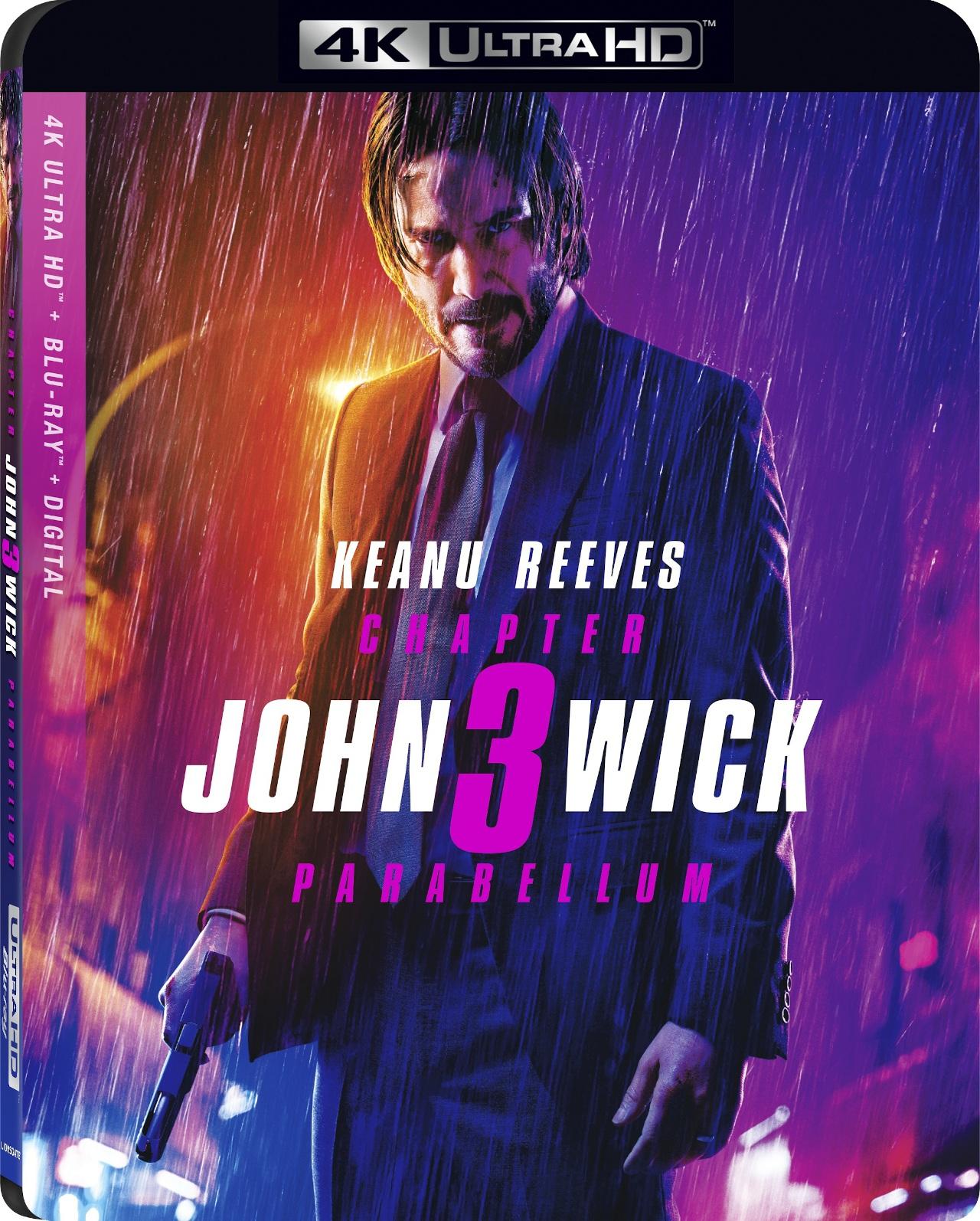 John Wick 3 4K UHD - Best 4K Blu-ray Action Movies
