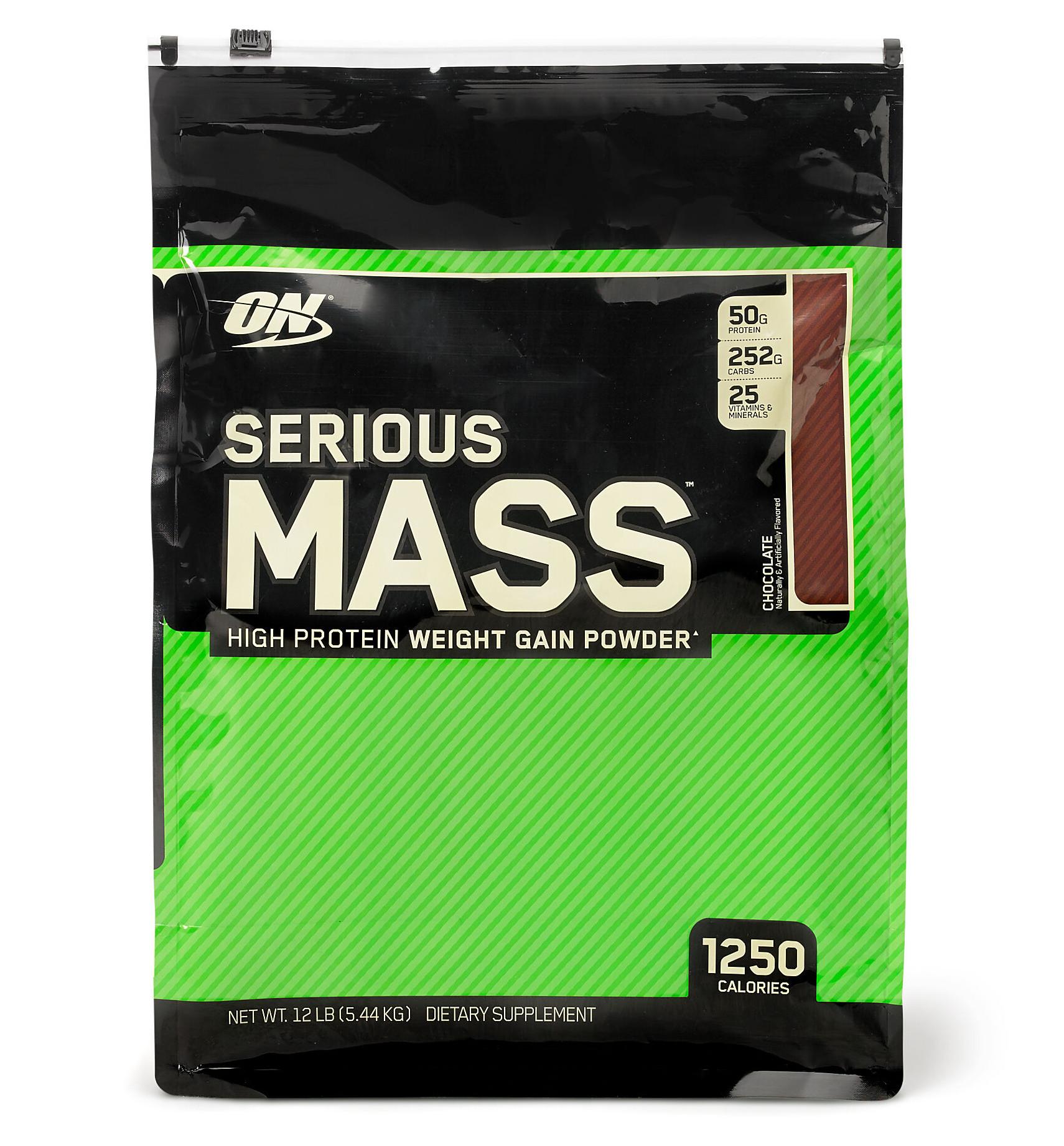 Serious Mass Weight Gainer Powder Strawberry Flavor - Protein Shake Recipe