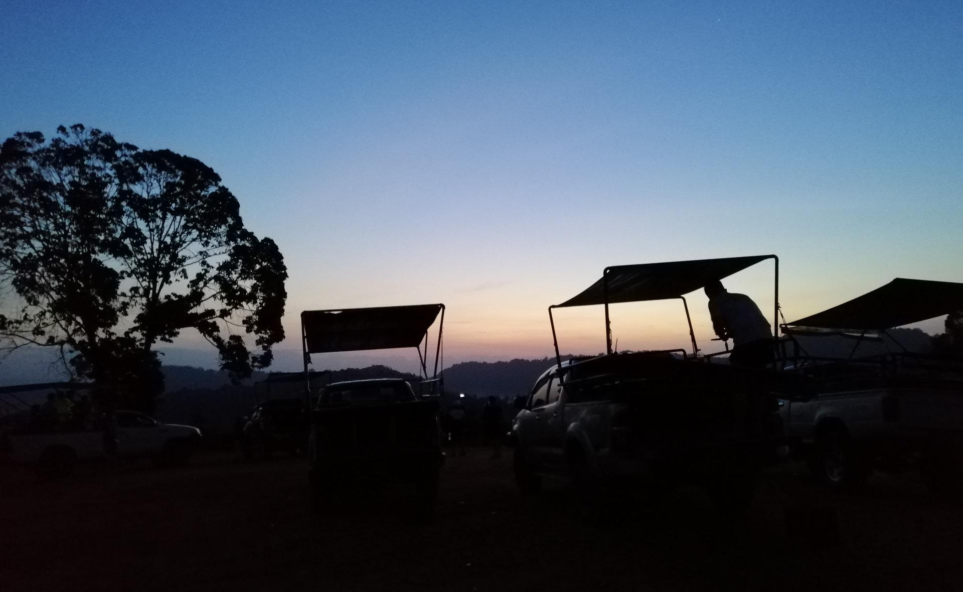 Bukit Panorama Sungai Lembing Sunrise