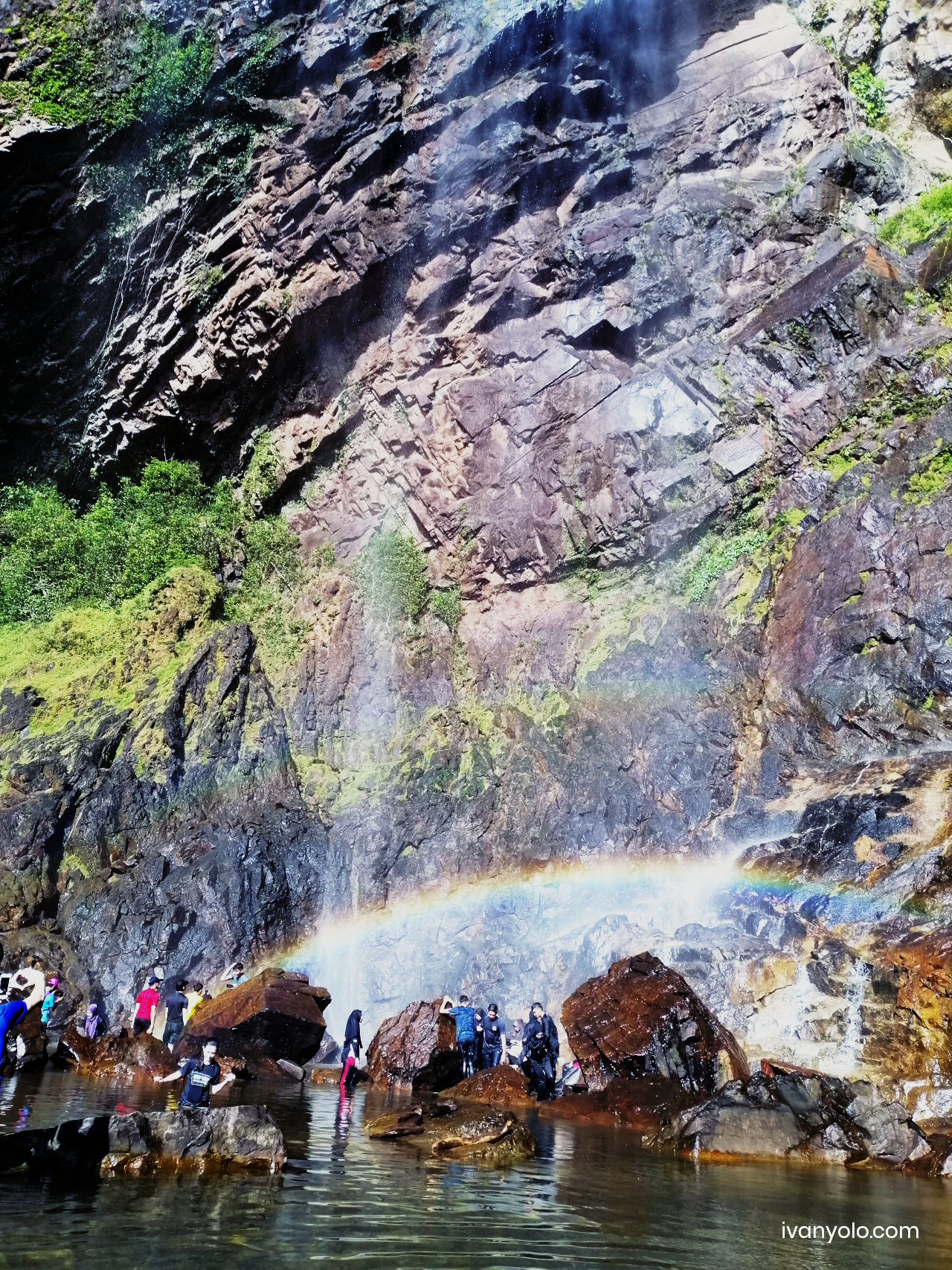 Rainbow Waterfall Sungai Lembing