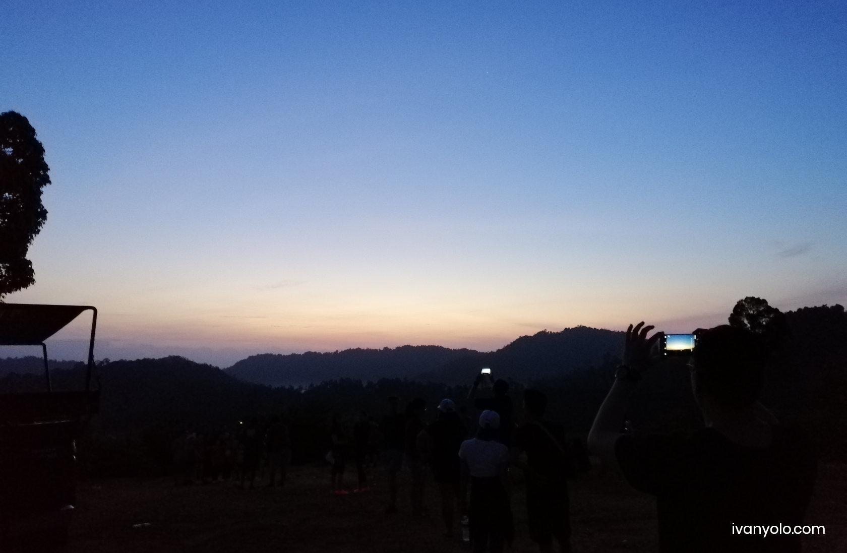 Sungai Lembing Sunrise Bukit Panorama