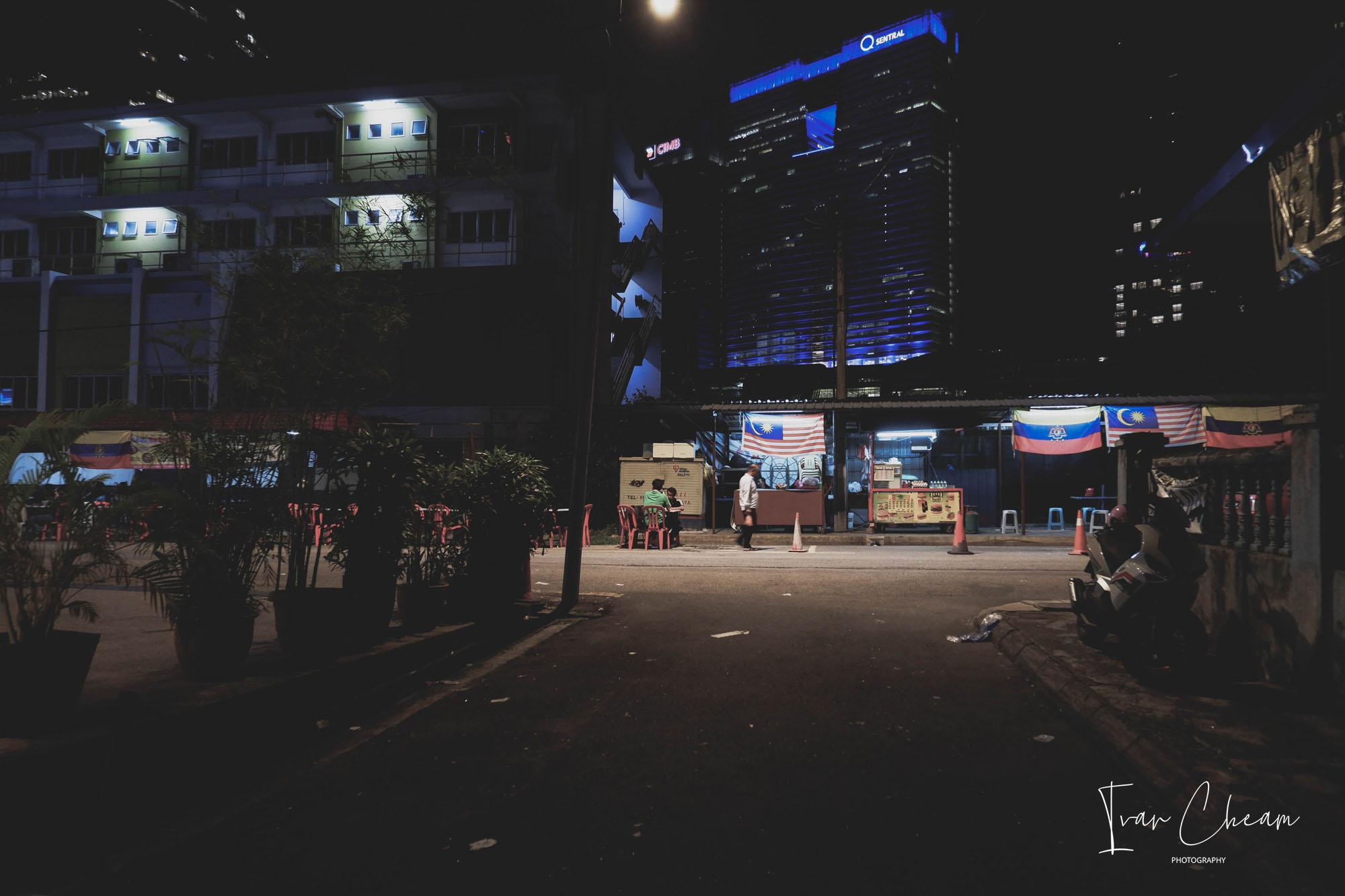 Brickfields Photo at Night